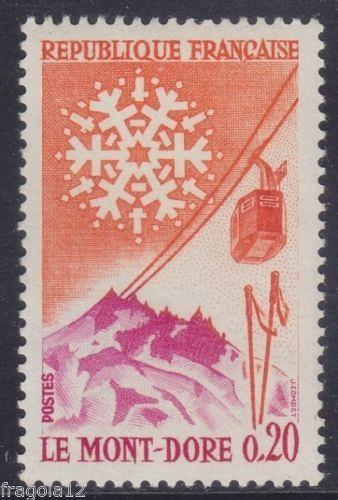 France Mont Dore mnh 1961 stamps