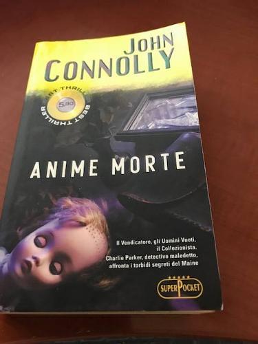 Italian Book John Connolly : Anime morte Libro