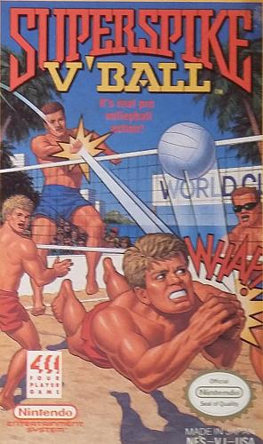 Super Spike V'Ball (Nintendo Entertainment System (NES) 1990) AUTHENTIC Video Game