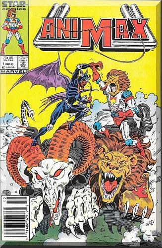 AniMax #1 (1986) *Copper Age / Marvel Comics / Motor Mutants*