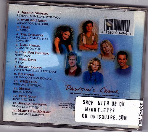 Dawson's Creek, Vol. 2 Soundtrack by Various Artists CD 2000 - Good