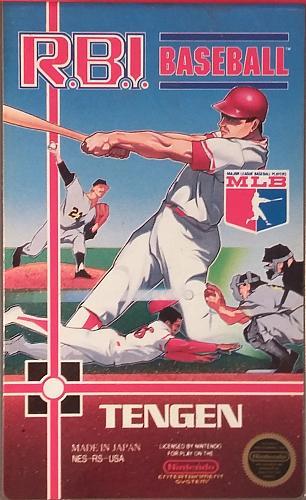 R.B.I. Baseball: Tengen (Nintendo NES, 1988) AUTHENTIC Video Game