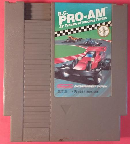 R.C. Pro-Am (Nintendo Entertainment System, 1988) AUTHENTIC Video Game