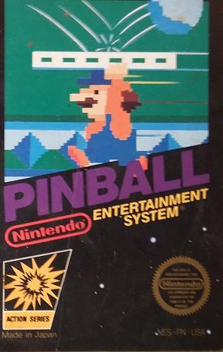 Pinball (1985) - Nintendo Entertainment System (NES) - AUTHENTIC Video Game