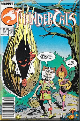 ThunderCats #24 (1988) *Copper Age / Marvel Comics / Duploids / Final Issue*