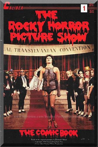 The Rocky Horror Picture Show: The Comic Book #1 (1990) *Copper Age / Caliber*