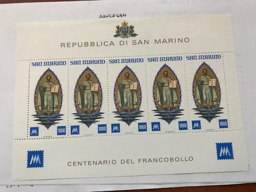 San Marino Stamp Exhibition s/s 1977 mnh stamps
