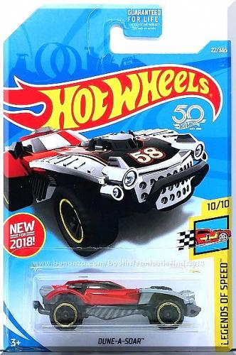 Hot Wheels - Dune-A-Soar: Legends Of Speed #10/10 - #22/365 (2018) *Red Edition*