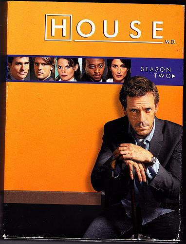 House - Season 2 DVD 2006, 6-Disc Set - Very Good