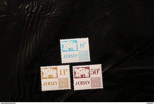 Jersey 1975 set dues MNH WYSIWYG Cat $2.05