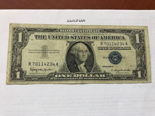 USA United States $1.00 banknote 1957 #15