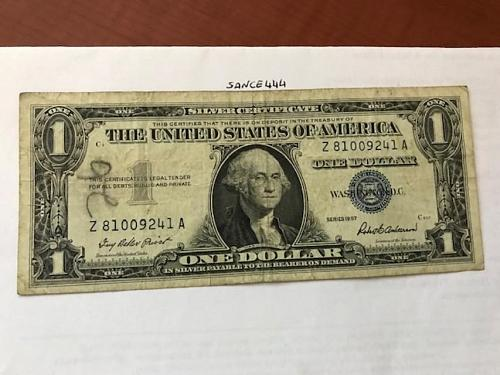 USA United States $1.00 banknote 1957 #26