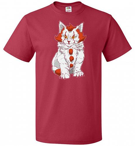 kITten Unisex T-Shirt Pop Culture Graphic Tee (M/True Red) Humor Funny Nerdy Geeky Sh