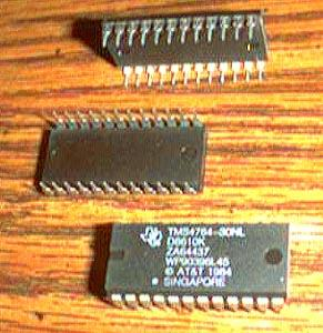 Lot of 15: Texas Instruments TMS4764-30NL
