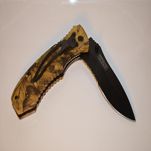 Tac-Force Spring Assisted Camo 800CA Folding Knife
