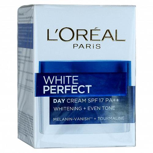L'Oreal White Perfect Day Cream Tourmaline Skin Whitening SPF 17 20ml
