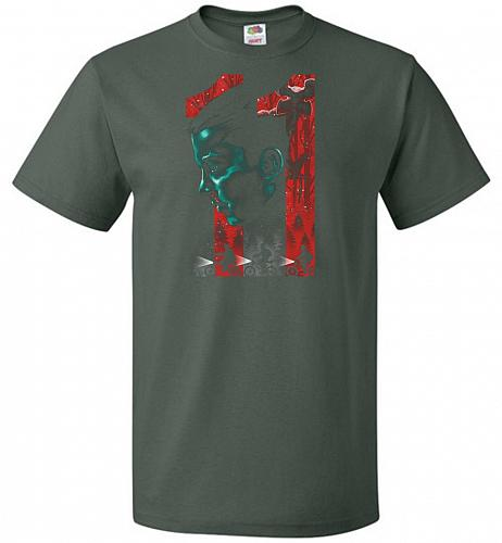 Eleven Unisex T-Shirt Pop Culture Graphic Tee (5XL/Forest Green) Humor Funny Nerdy Ge