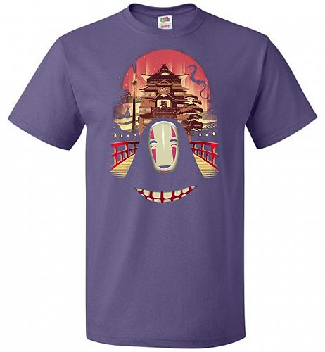 Welcome to the Magical Bathhouse Unisex T-Shirt Pop Culture Graphic Tee (S/Purple) Hu