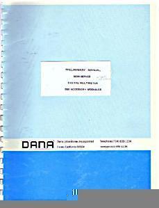 Dana 5200 Series Digital Multimeter Preliminary Manual :: FREE Shipping