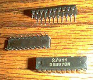 Lot of 18: National Semiconductor DS8978N