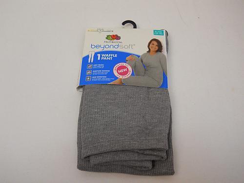 Baselayer Womens Warm Underwear Size XL Leggings Performance Solid Grey