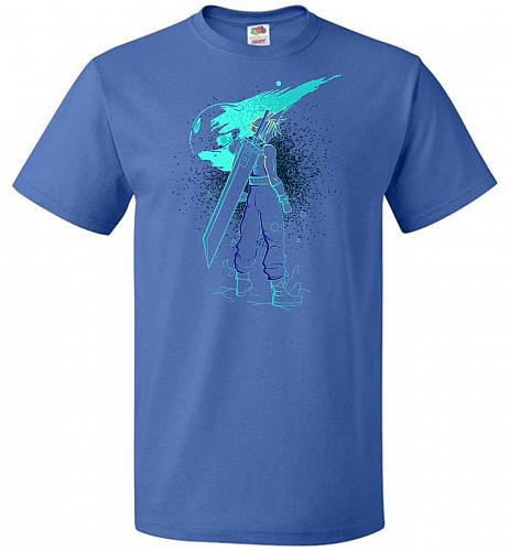 Shadow Of The Meteor Unisex T-Shirt Pop Culture Graphic Tee (L/Royal) Humor Funny Ner