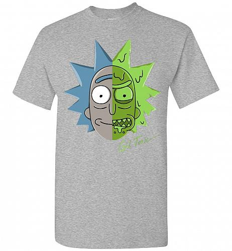 Get Toxic Rick and Morty Unisex T-Shirt Pop Culture Graphic Tee (XL/Sports Grey) Humo