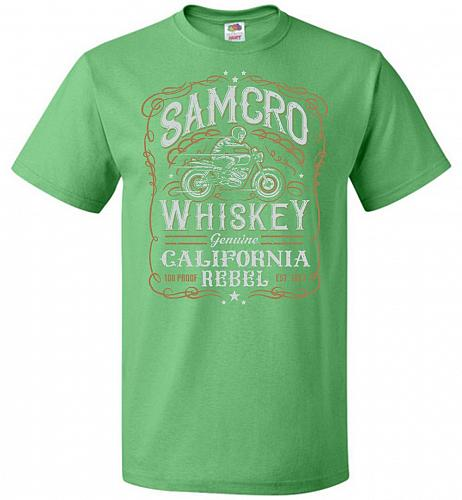 Sons of Anarchy Samcro Whiskey Adult Unisex T-Shirt Pop Culture Graphic Tee (XL/Kelly