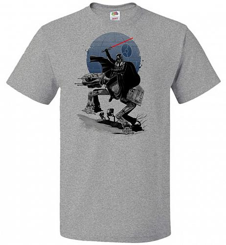 Crossing The Dark Path Unisex T-Shirt Pop Culture Graphic Tee (5XL/Athletic Heather)