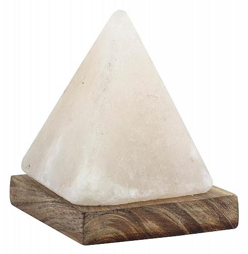 :11002U - Pyramid Rock Salt Lamp With USB