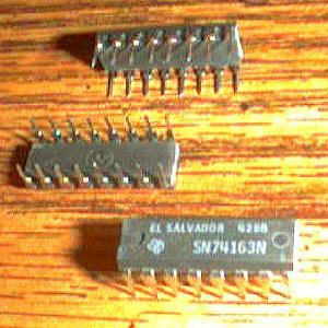 Lot of 22: Texas Instruments SN74163N