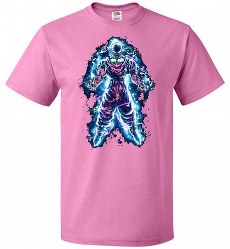 Piccolo Unisex T-Shirt Pop Culture Graphic Tee (3XL/Azalea) Humor Funny Nerdy Geeky S