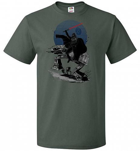 Crossing The Dark Path Unisex T-Shirt Pop Culture Graphic Tee (2XL/Forest Green) Humo