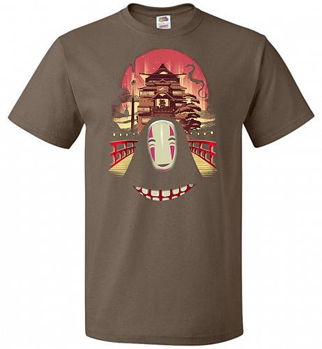 Welcome to the Magical Bathhouse Unisex T-Shirt Pop Culture Graphic Tee (S/Chocolate)