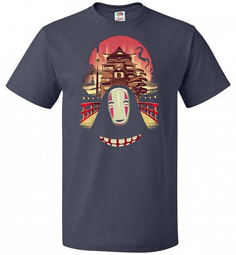 Welcome to the Magical Bathhouse Unisex T-Shirt Pop Culture Graphic Tee (3XL/J Navy)