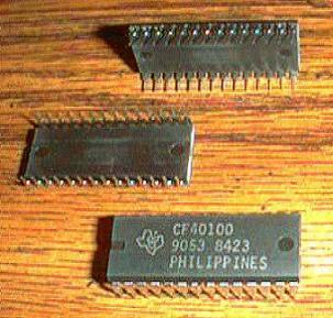 Lot of 11: Texas Instruments CF40100