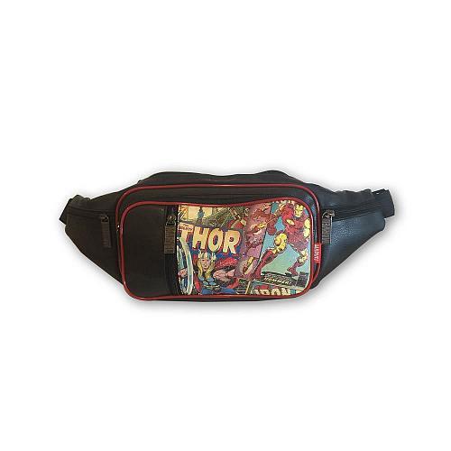 :10772U - Faux Leather Retro Thor Marvel Fanny Pack