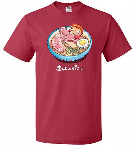 Noodle Swim Unisex T-Shirt Pop Culture Graphic Tee (6XL/True Red) Humor Funny Nerdy G