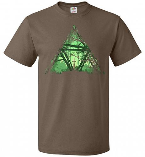 Treeforce Unisex T-Shirt Pop Culture Graphic Tee (XL/Chocolate) Humor Funny Nerdy Gee