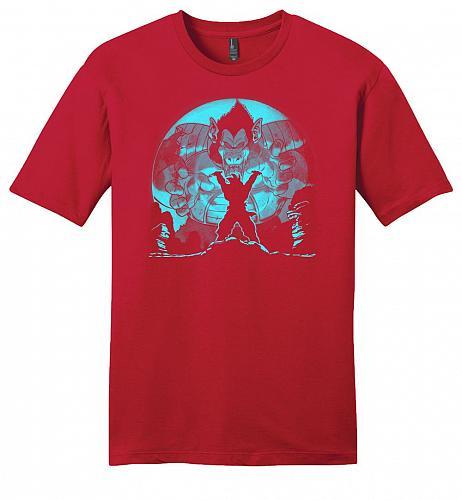 Saiyan Sized Secret Youth Unisex T-Shirt Pop Culture Graphic Tee (4XL/Classic Red) Hu