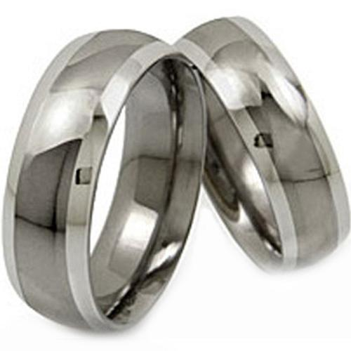 coi Jewelry Tungsten Carbide Couple Wedding Band Ring