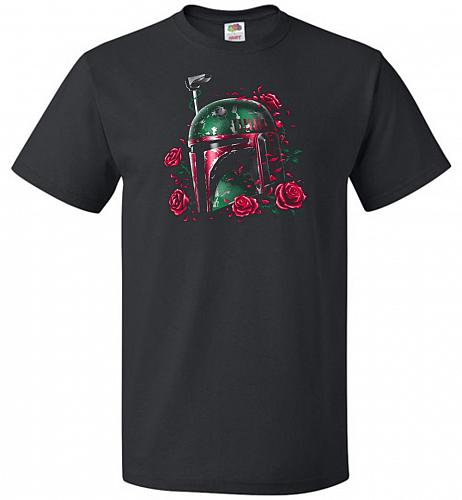 Phantom Of The Empire Fett Unisex T-Shirt Pop Culture Graphic Tee (3XL/Black) Humor F