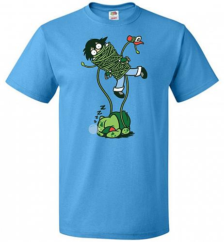Whipped Unisex T-Shirt Pop Culture Graphic Tee (XL/Pacific Blue) Humor Funny Nerdy Ge