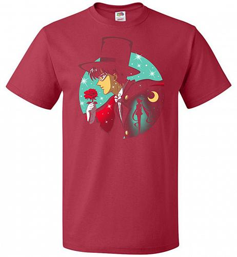 Knight Of The Moonlight Unisex T-Shirt Pop Culture Graphic Tee (M/True Red) Humor Fun