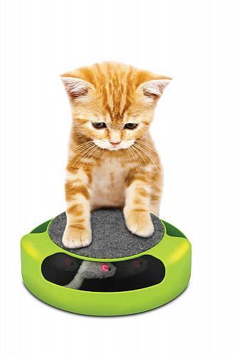 :10949U - Feline Frenzy Scratch Pad Cat Pet Game
