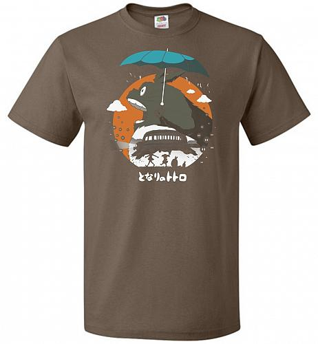 The Neighbors Journey Unisex T-Shirt Pop Culture Graphic Tee (2XL/Chocolate) Humor Fu