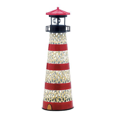 *18325U - Metal LED Light Up Lighthouse