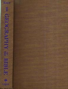 The GEOGRAPHY of the BIBLE :: 1957 HB :: FREE Shipping