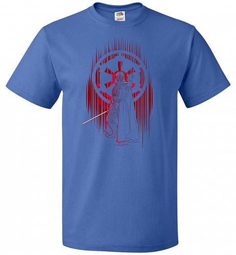 Shadow Of The Empire Unisex T-Shirt Pop Culture Graphic Tee (S/Royal) Humor Funny Ner