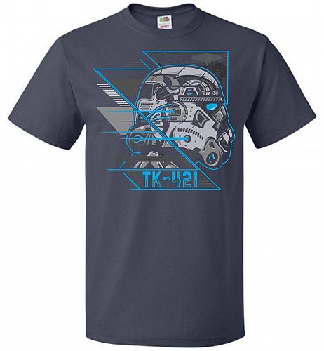 TK 421 Unisex T-Shirt Pop Culture Graphic Tee (5XL/J Navy) Humor Funny Nerdy Geeky Sh
